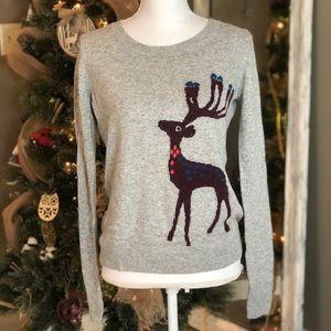 LOFT size small reindeer sweater